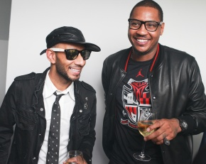 Carmelo Anthony on Fashion x Business w/Swizz Beatz