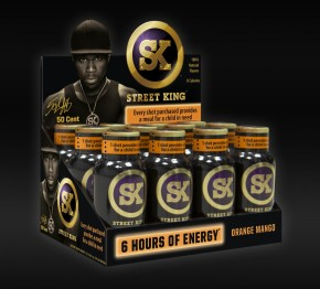 Pepsi To Distribute 50 Cent's 'Street King' Energy Drink