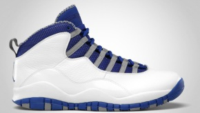 Air Jordan X Royal/White
