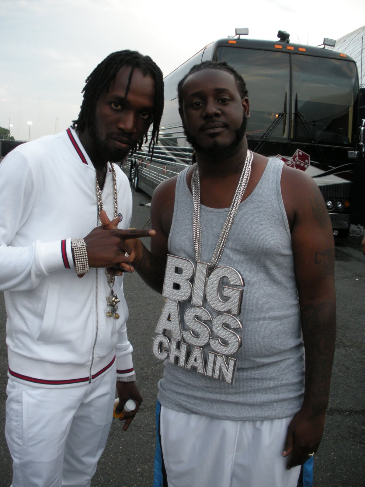 Tpain big ass chain