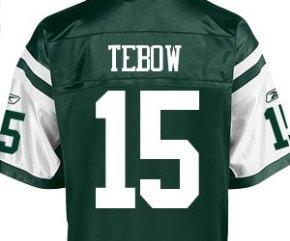 Nike Sues Reebok Over Tim Tebow JetsApparel