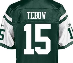 Nike Sues Reebok Over Tim Tebow Jets Apparel