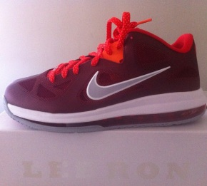 Nike LeBron 9 Low Team Red