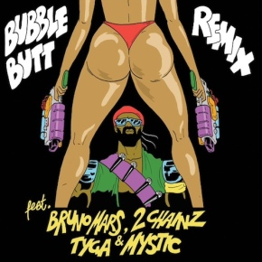 "New Music: Major Lazer x Bruno Mars x 2 Chainz x Tyga x Mystic ""Bubble Butt (Remix)"""
