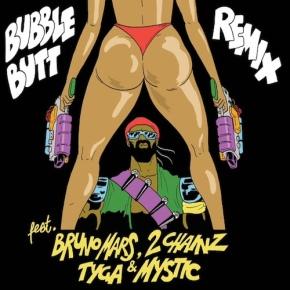 "New Music: Major Lazer x Bruno Mars x 2 Chainz x Tyga x Mystic ""Bubble Butt(Remix)"""